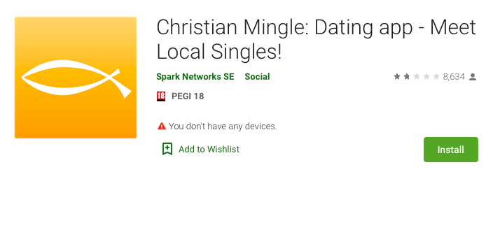 ChristianMingle app